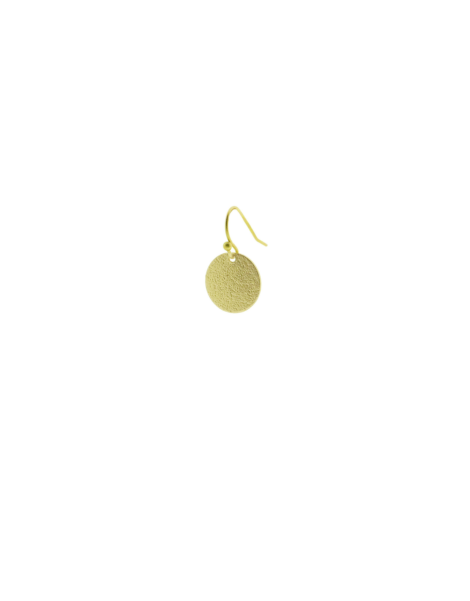oorbEllen mix&match cirkel klein vol mat goud kort