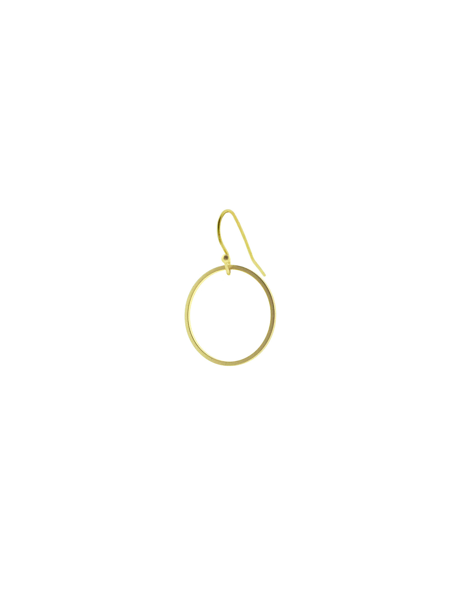 oorbEllen mix&match cirkel mat goud kort