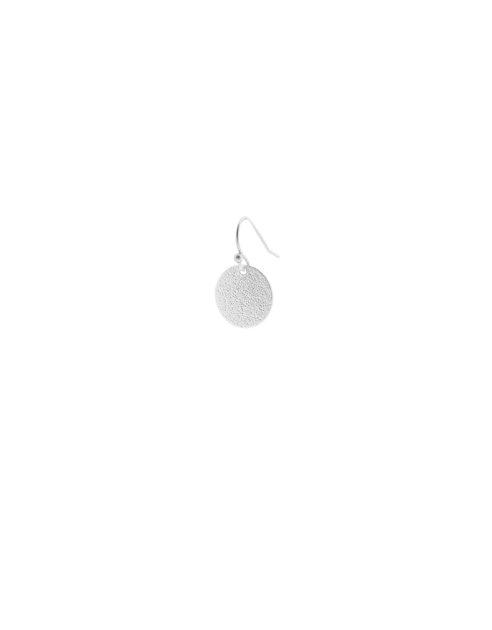 oorbEllen mix&match cirkel klein vol mat zilver kort
