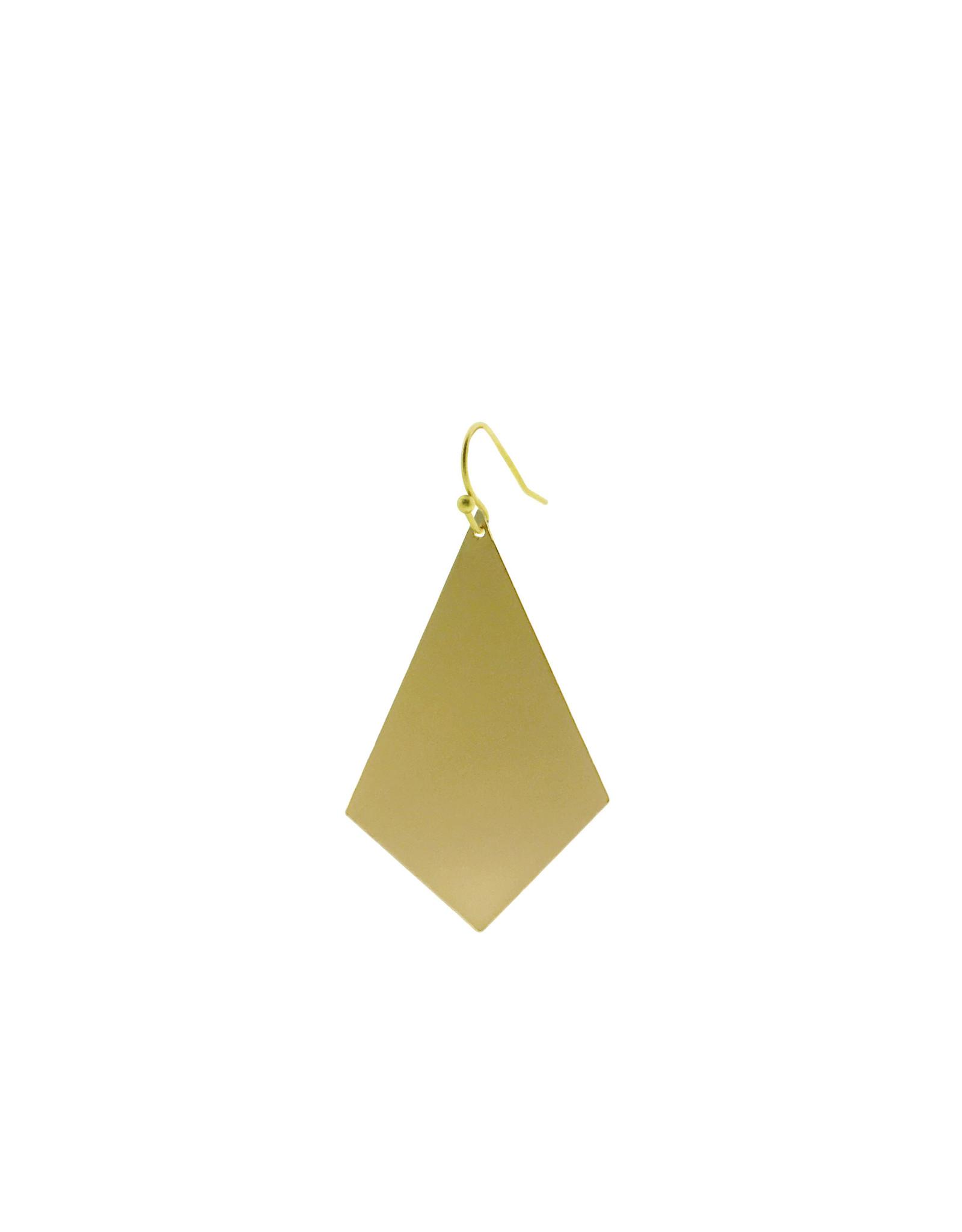 oorbEllen mix&match ruit mat goud kort