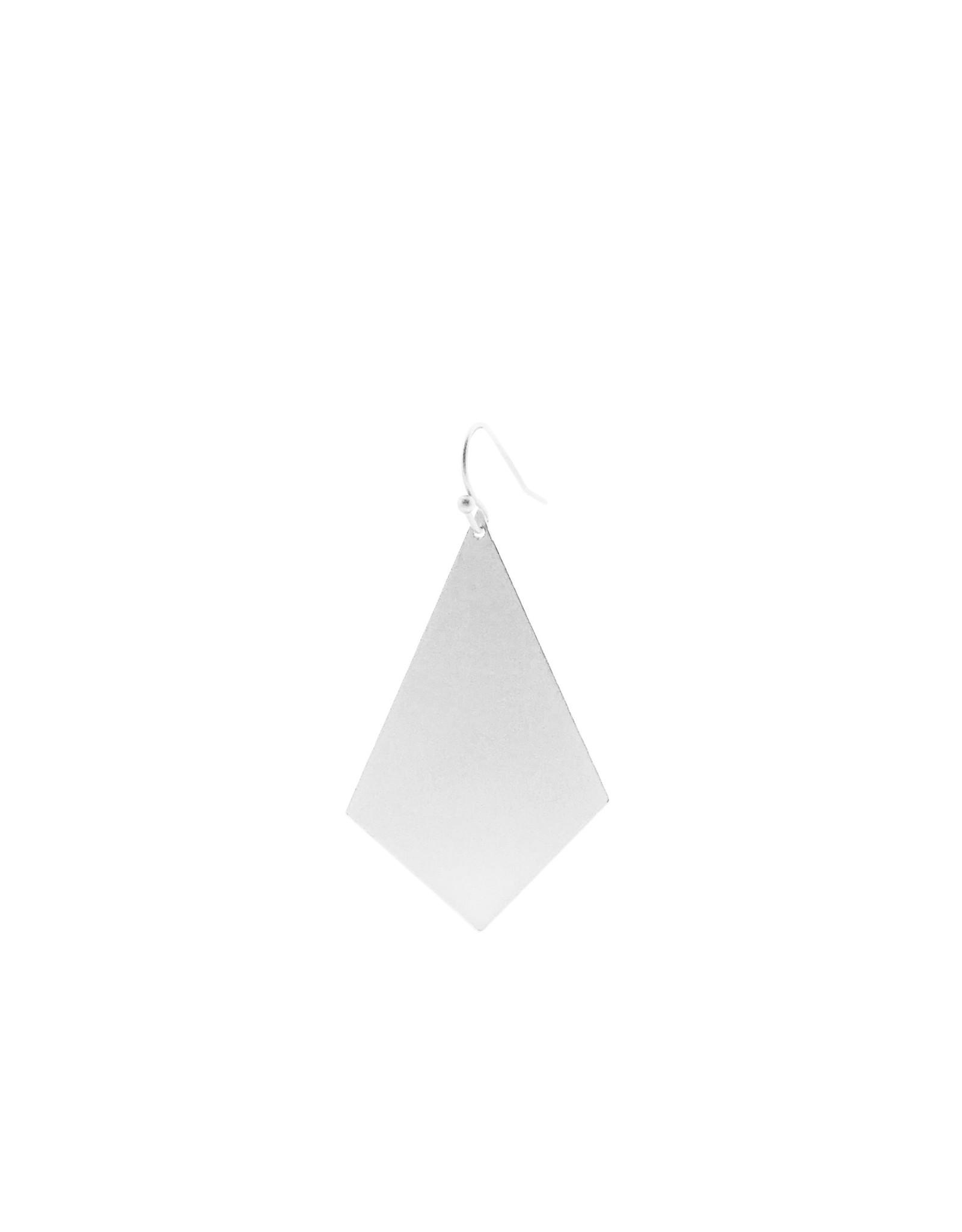 oorbEllen mix&match ruit mat zilver kort