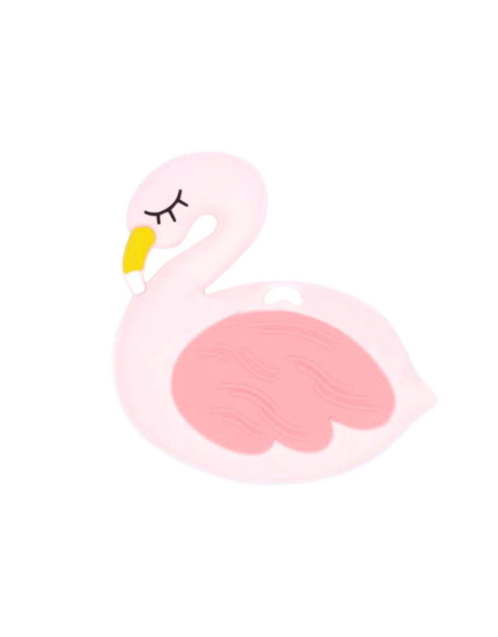 Bijtspeeltje flamingo