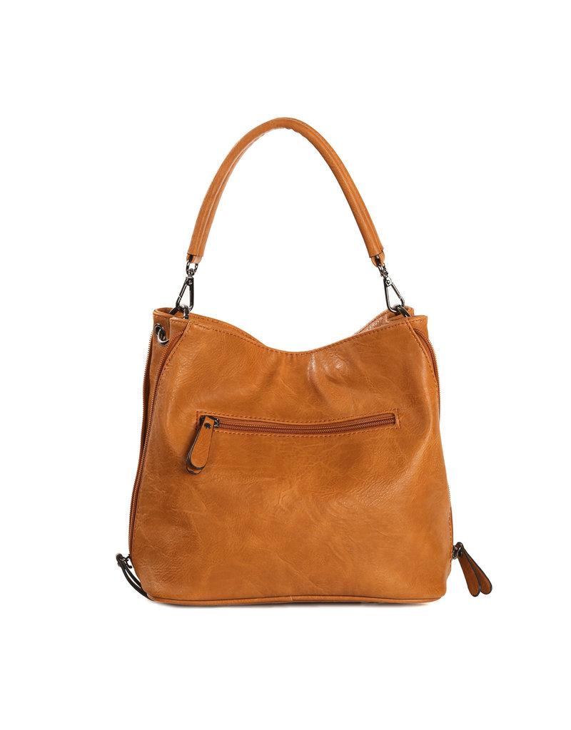 Handtas baggy camel