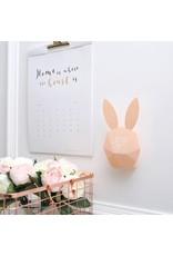 Alarmklok met sensor konijn roze