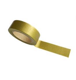 Washi tape mat goud