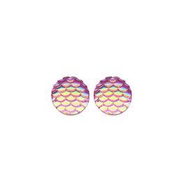 oorbEllen stekers zeemeermin roze