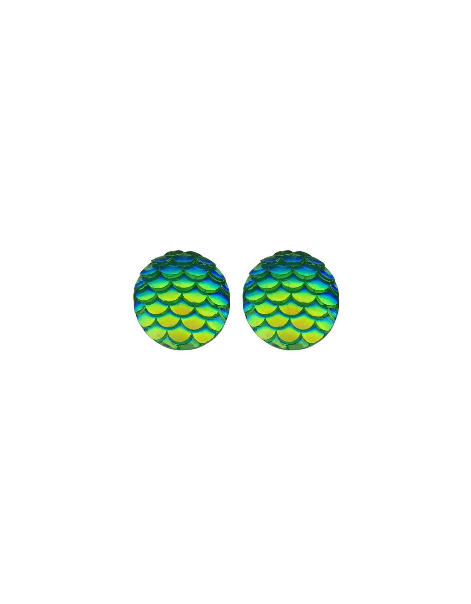 oorbEllen stekers zeemeermin groen