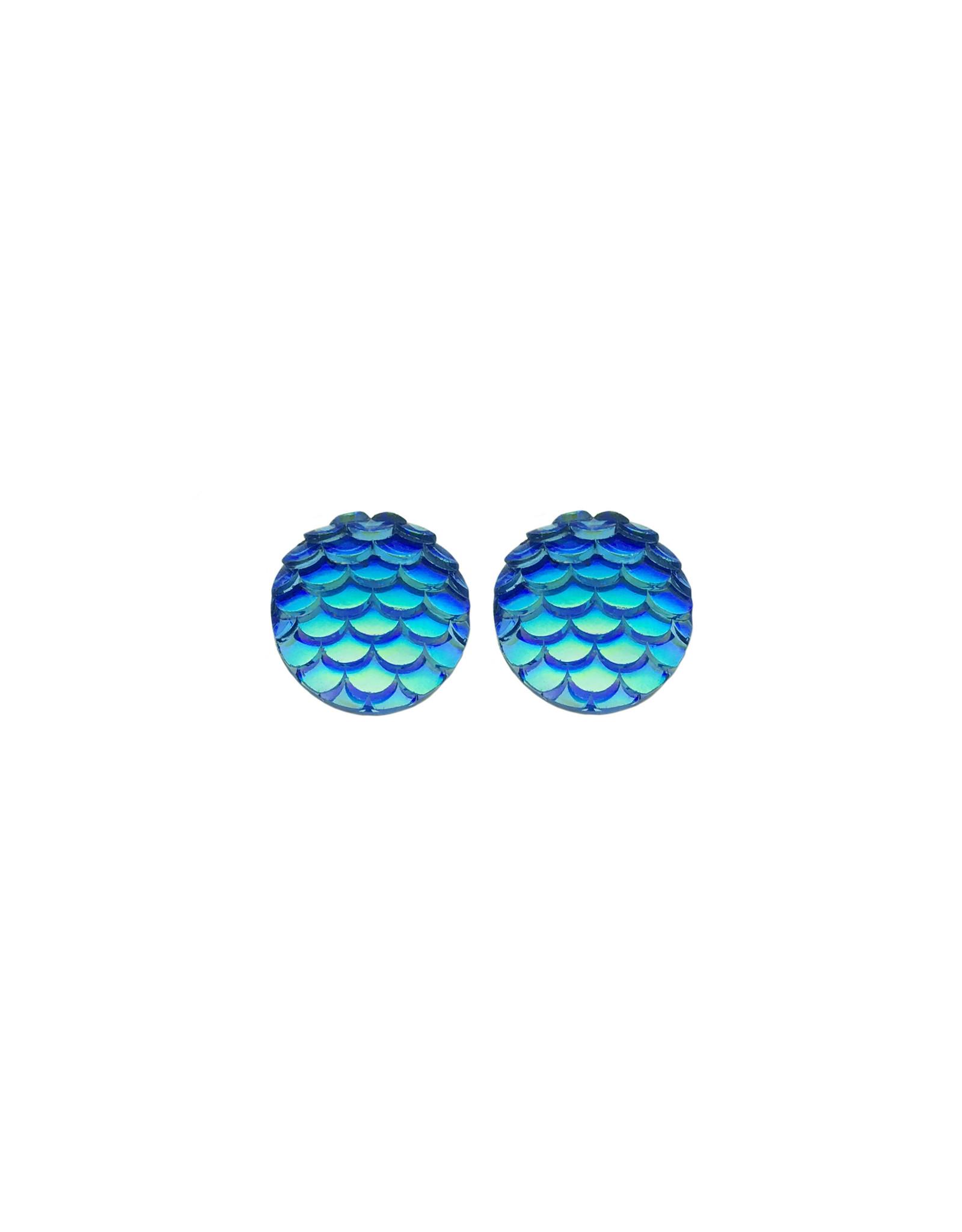 oorbEllen stekers zeemeermin blauw