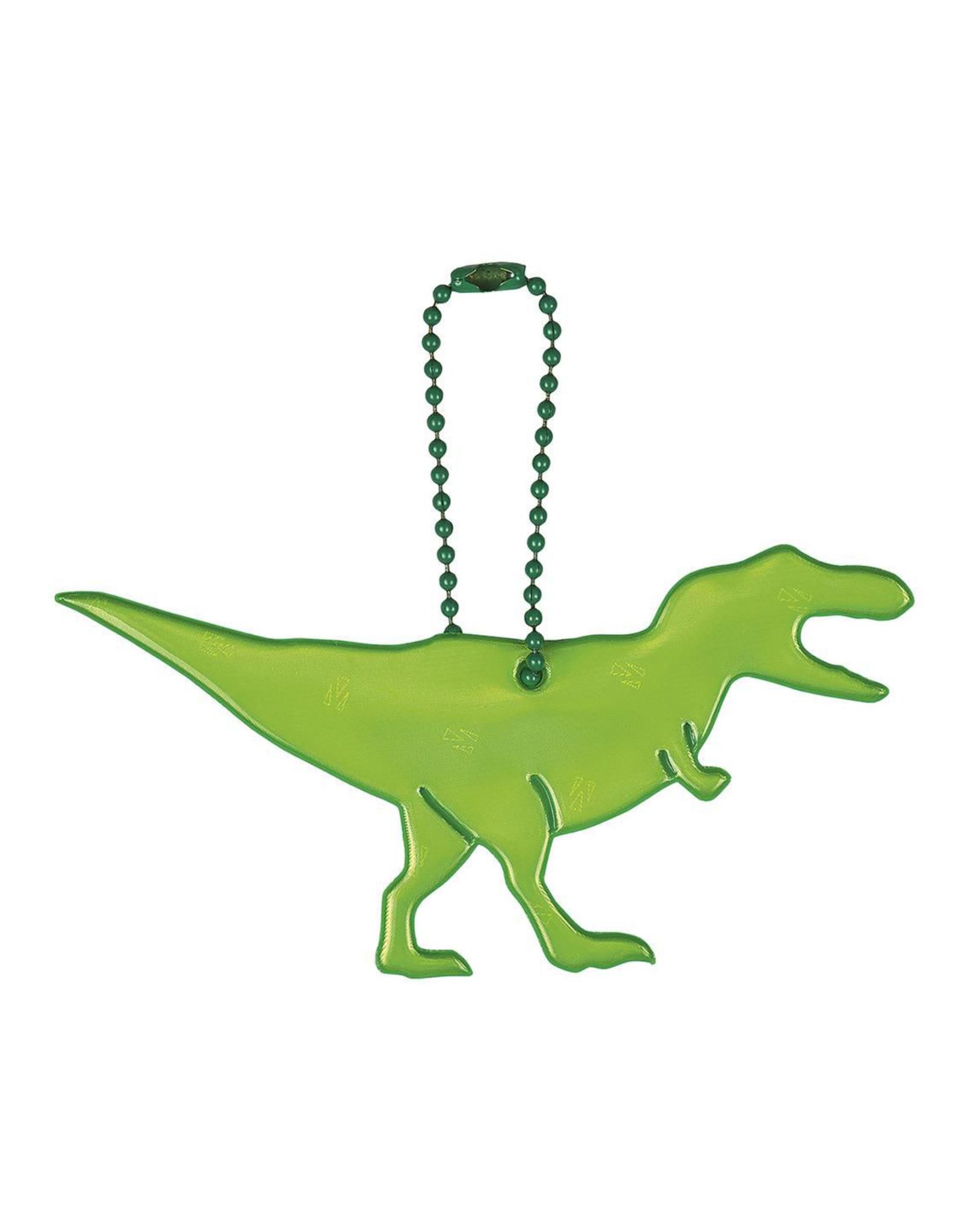 Reflecterende sleutelhanger T-rex
