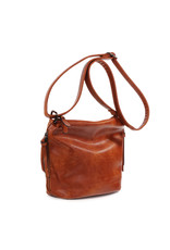 Handtas baggy klein bruin