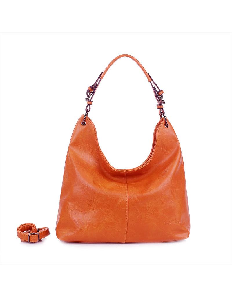 Handtas baggy XL koraal