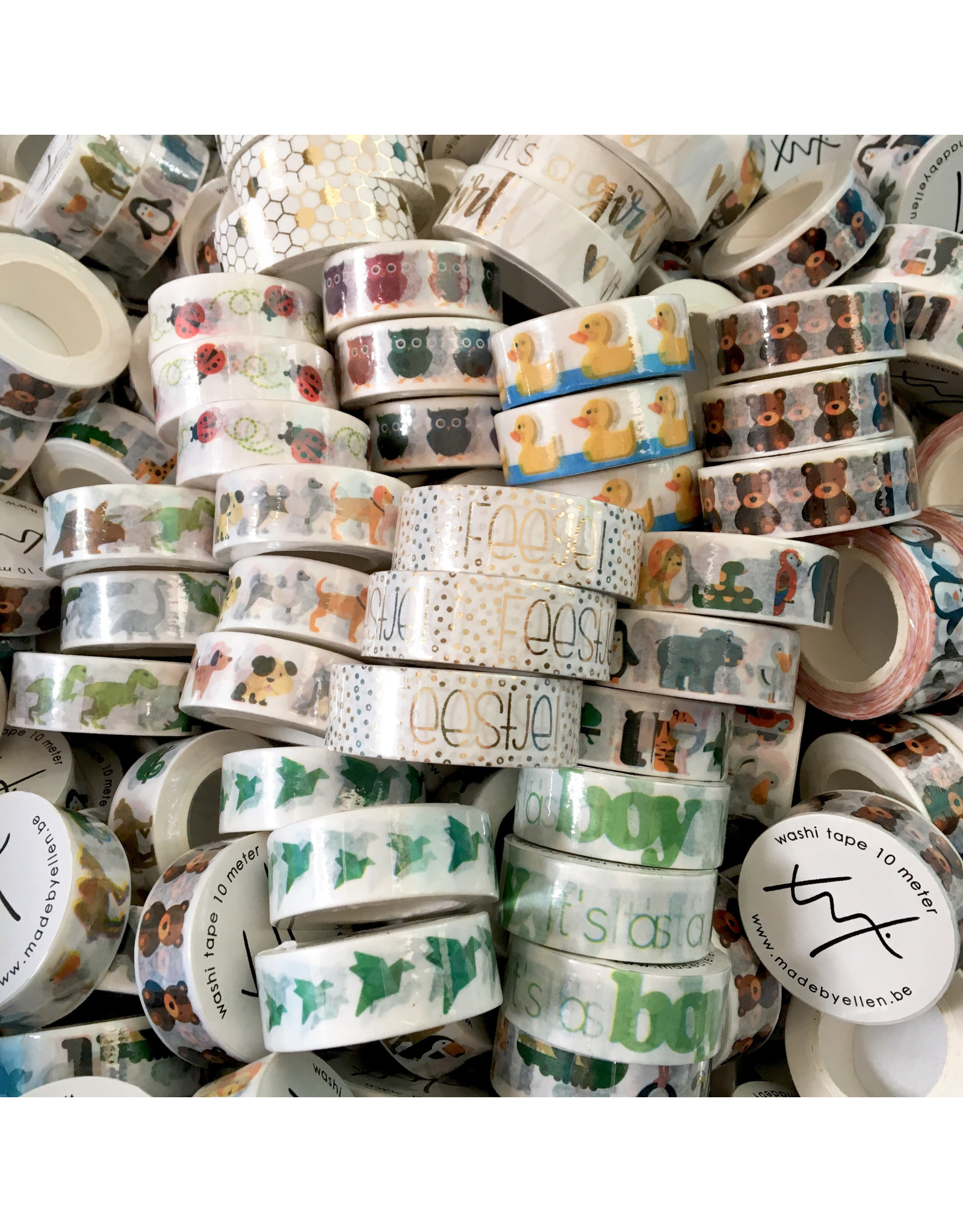 Washi tape zoo