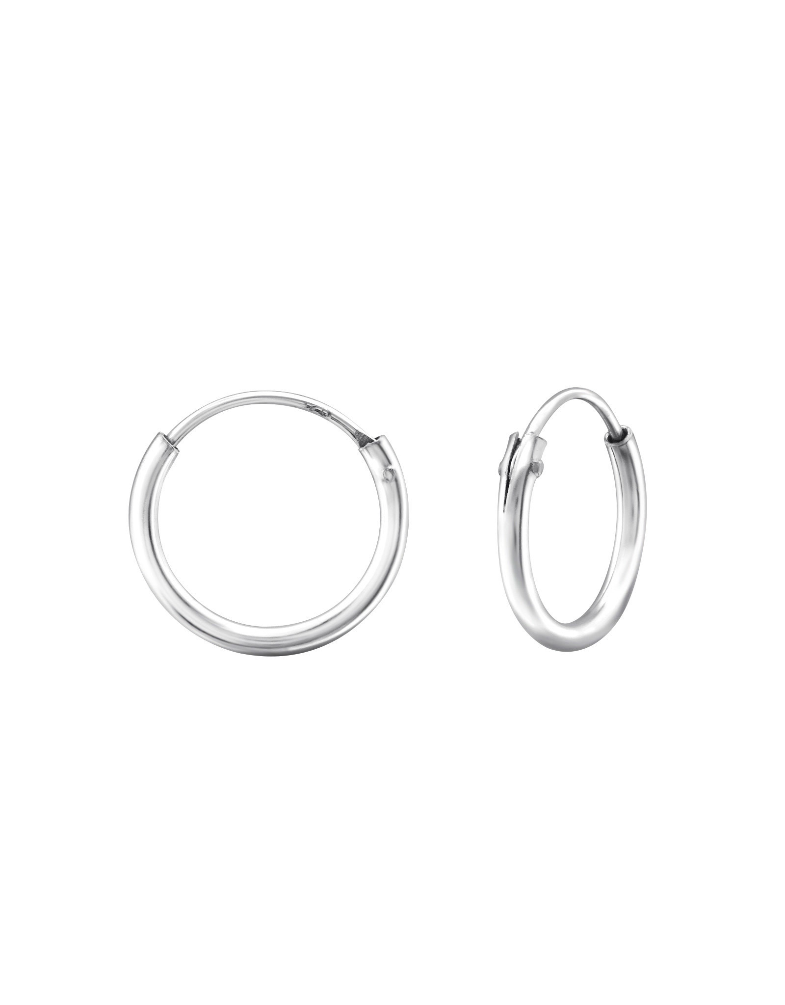 Ringetjes zilver 12mm