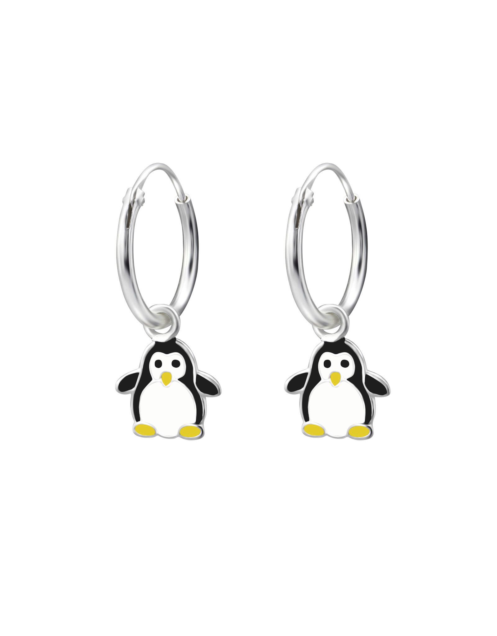 Ringetjes zilver pinguïn