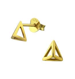 Stekertjes piramide goudkleurig