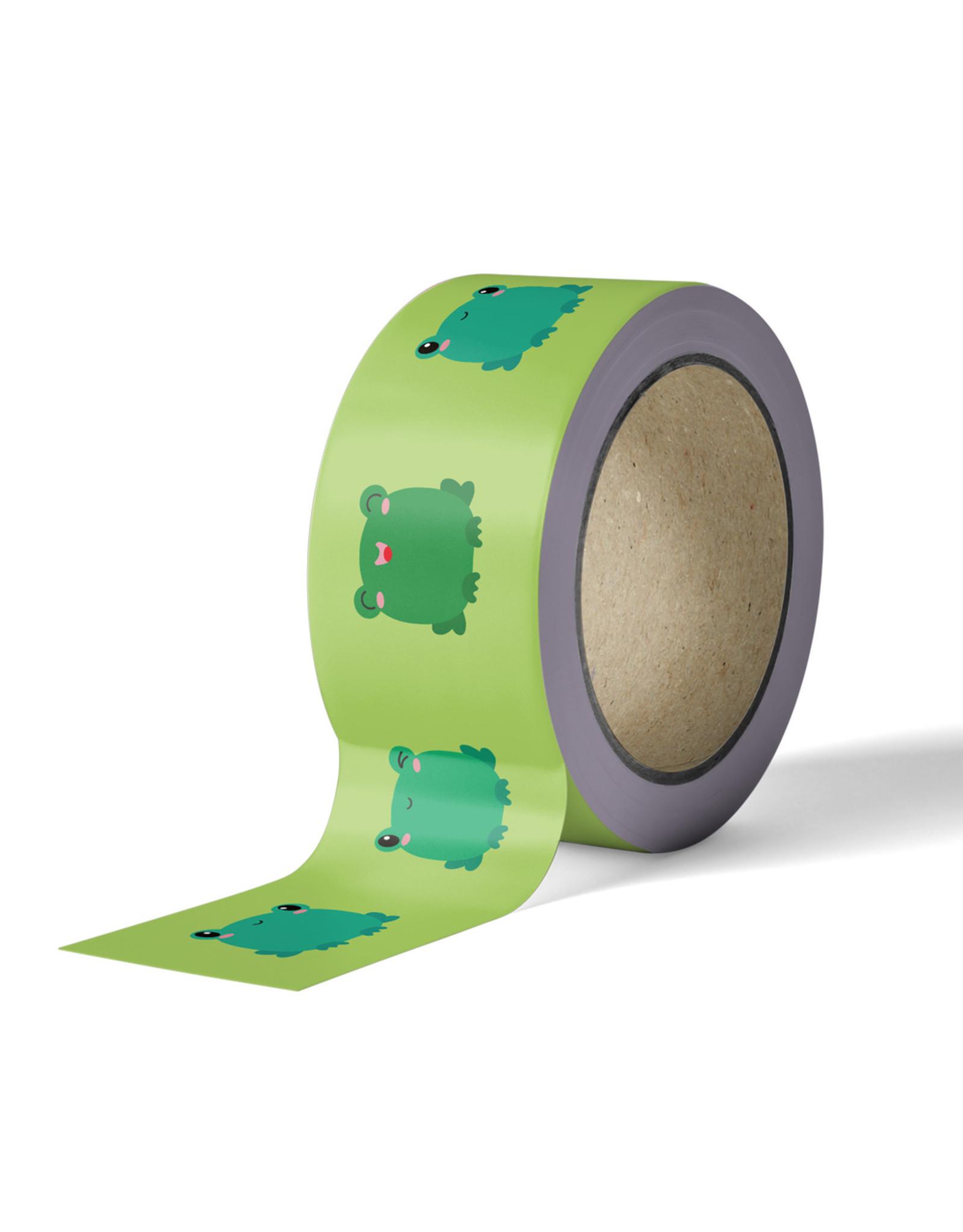 Washi tape kikker