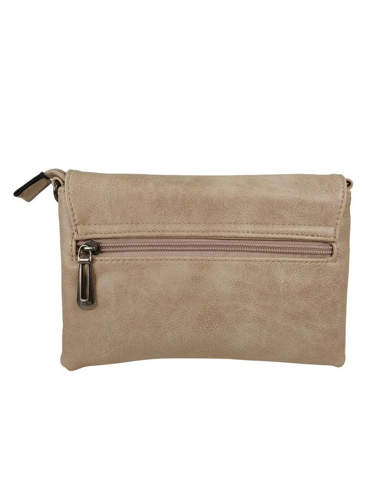 Handtasje/clutch greige