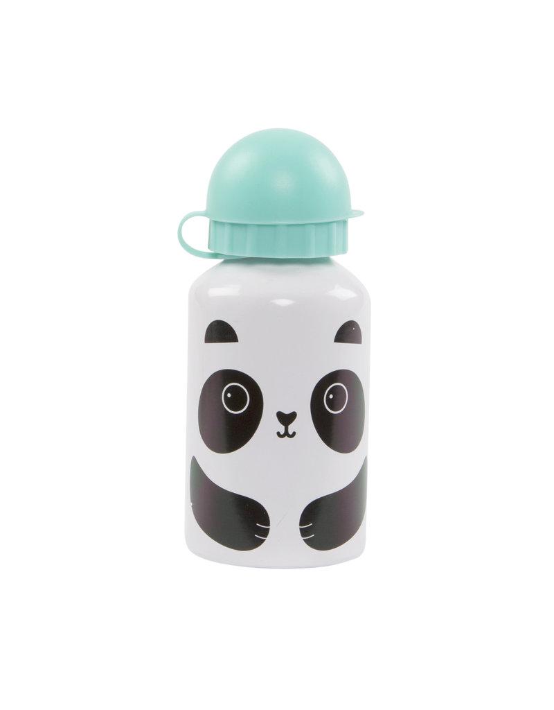 Aluminium drinkfles klein panda