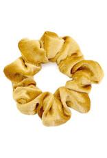 Scrunchie velvet goud