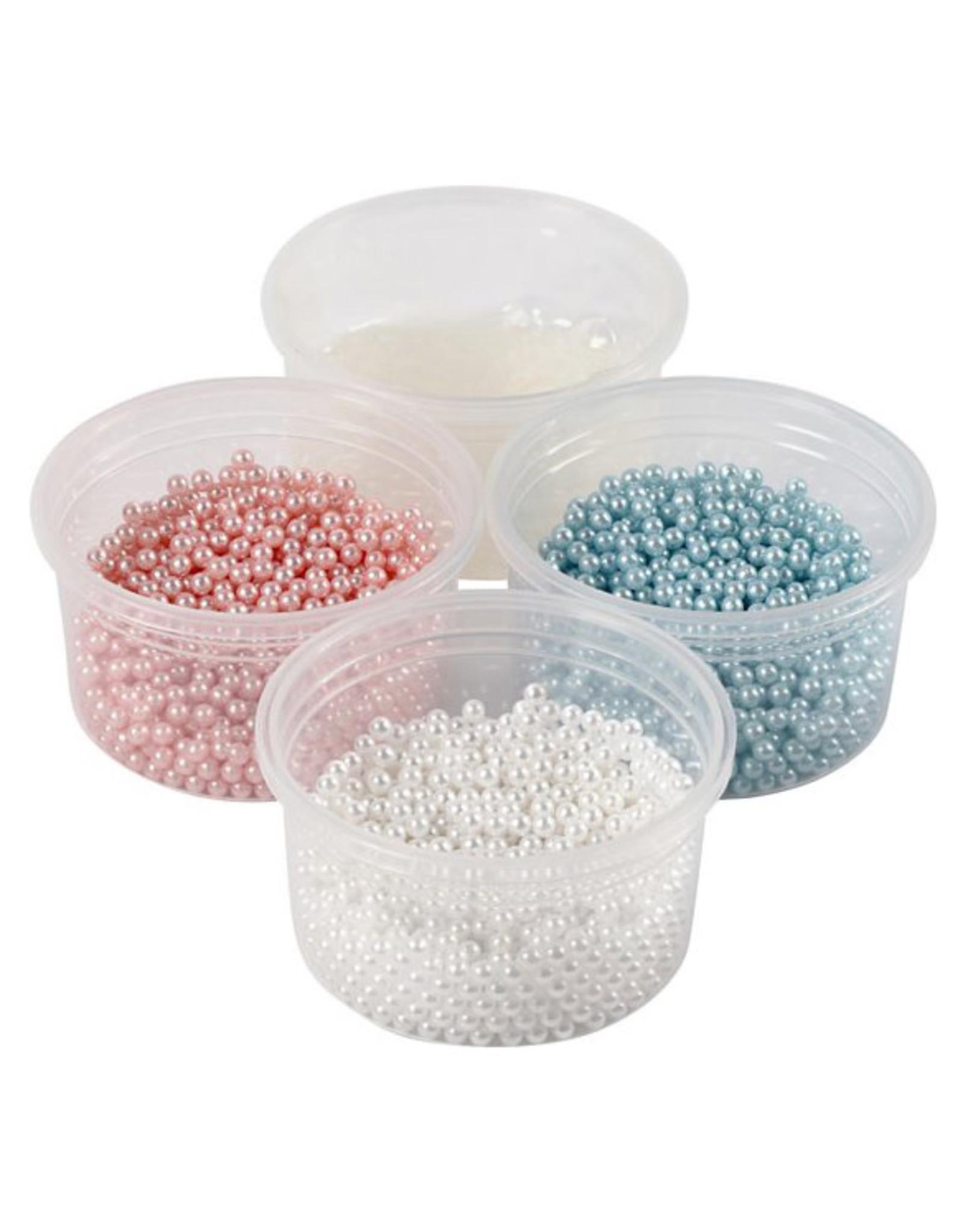 Pearl Clay® 3x25 gr wit/lichtroze/lichtblauw