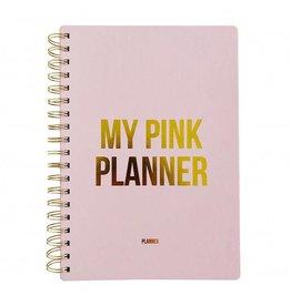 Planner Pink planner XL