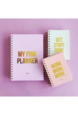 Planner Pink planner