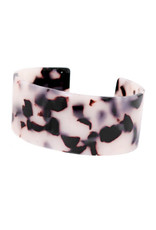 Armband acryl breed