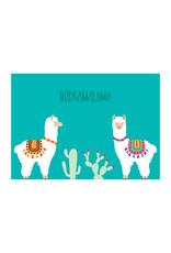 Postkaart Nodramalama