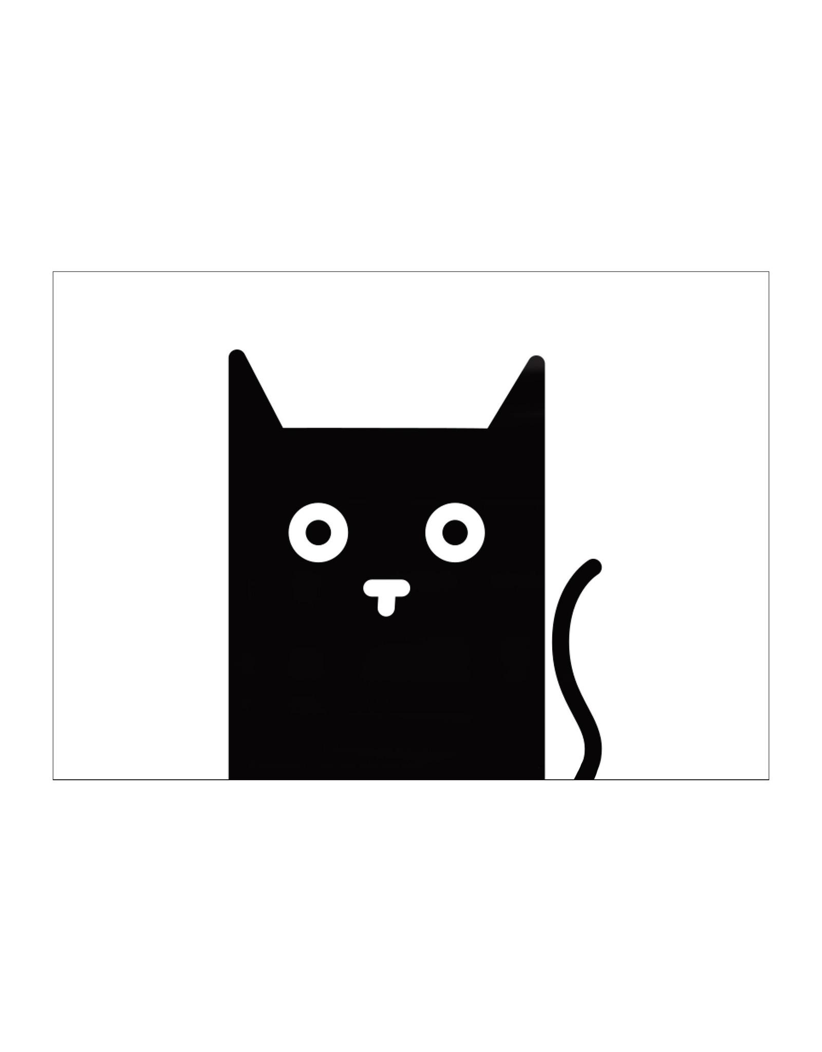 Postkaart Kat