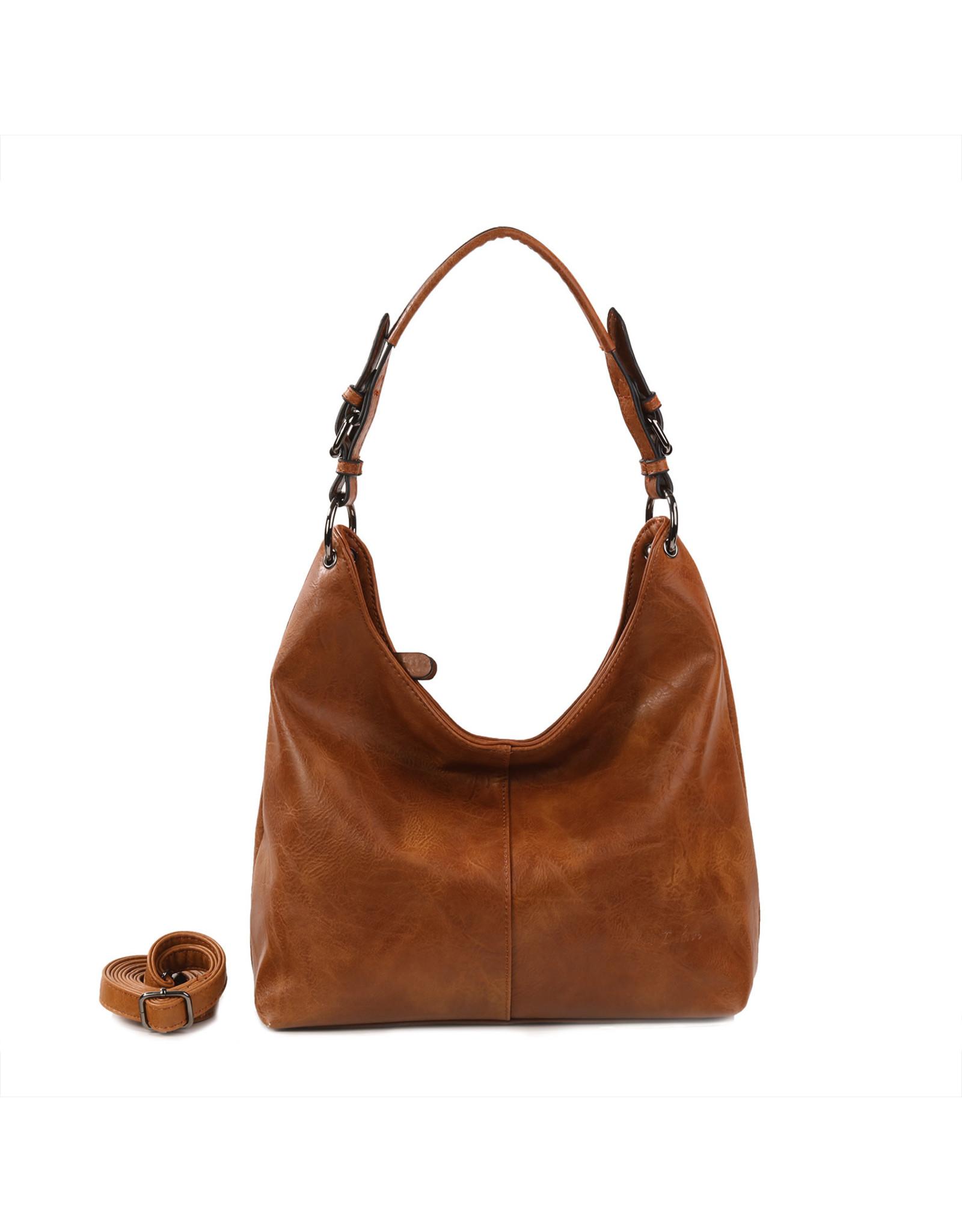 Handtas baggy L bruin