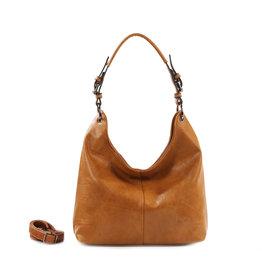 Handtas baggy L camel
