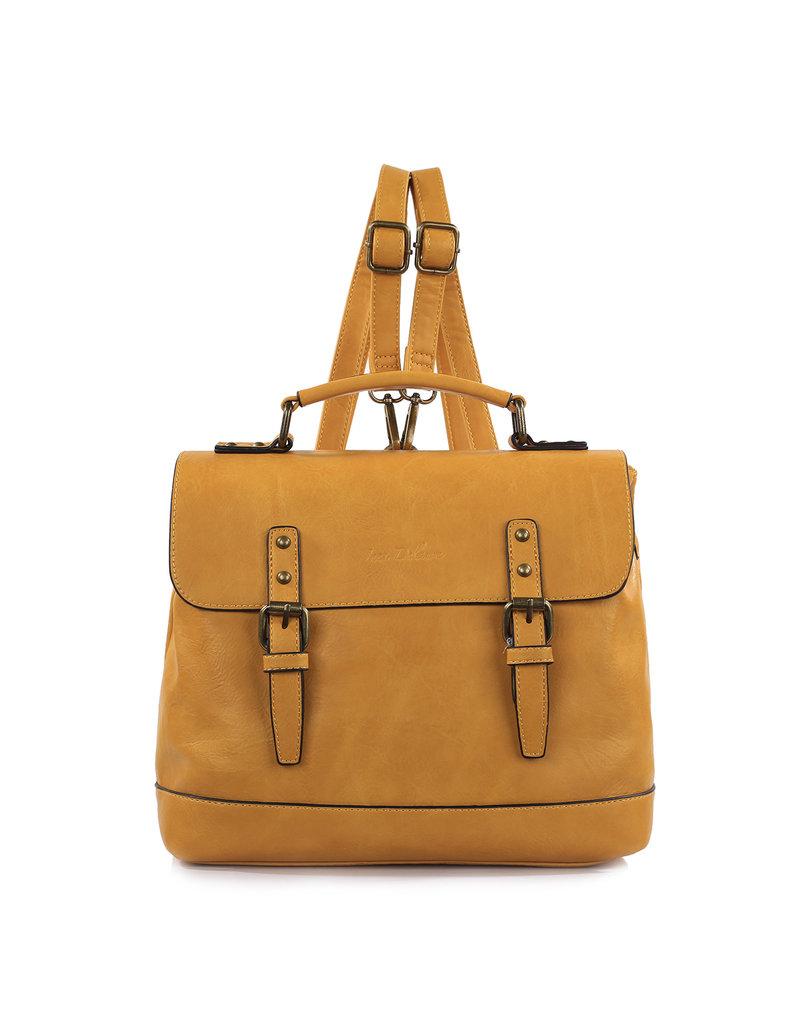 Handtas/rugzak geel