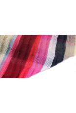 Sjaal gestreept fuchsia