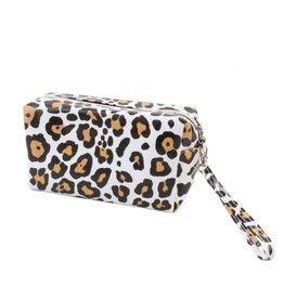 Toiletzak rechthoekig leopard