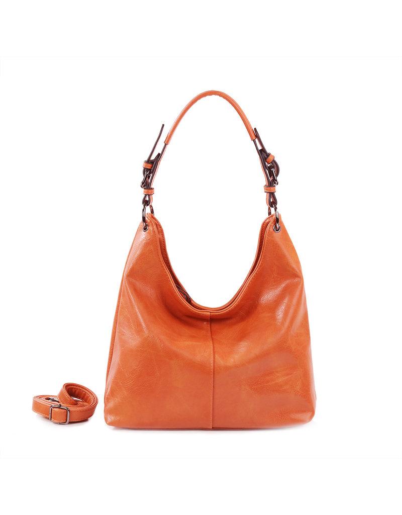 Handtas baggy L koraal