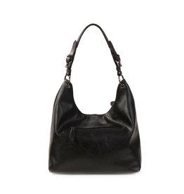 Handtas baggy L zwart