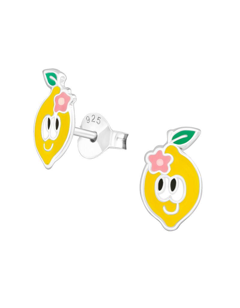 Stekertjes zilver citroen oogjes