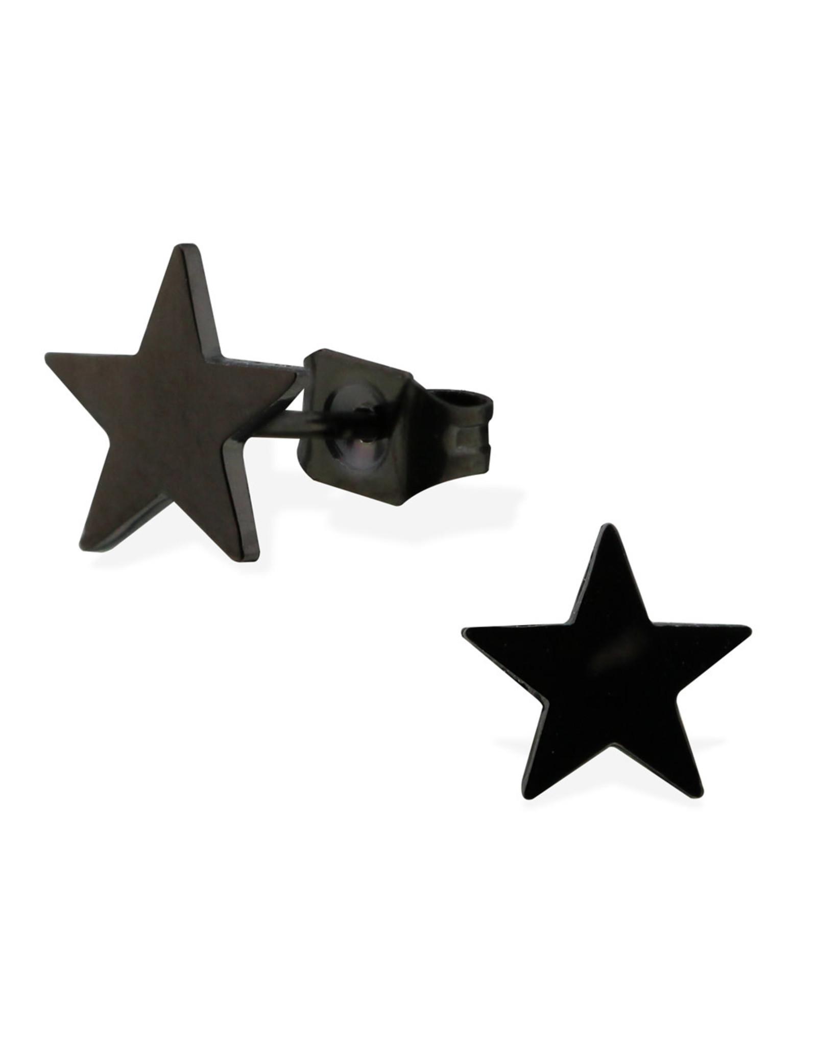 Stekertjes zwart ster