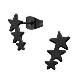 Stekertjes zwart sterren