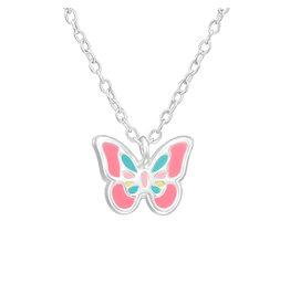 Hangertje zilver vlinder