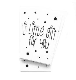 Mini kaartje Little gift for you