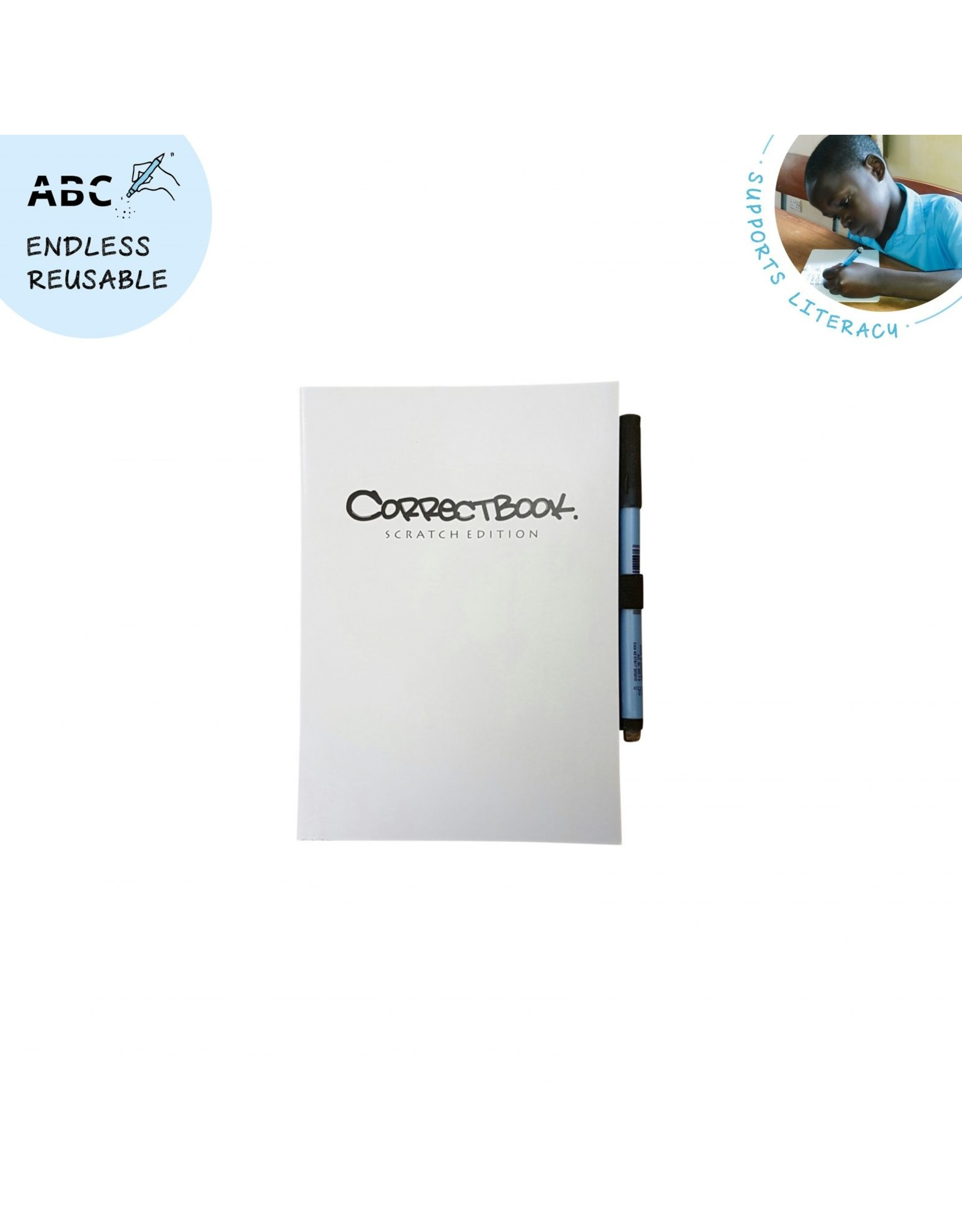 Correctbook scratch blanco