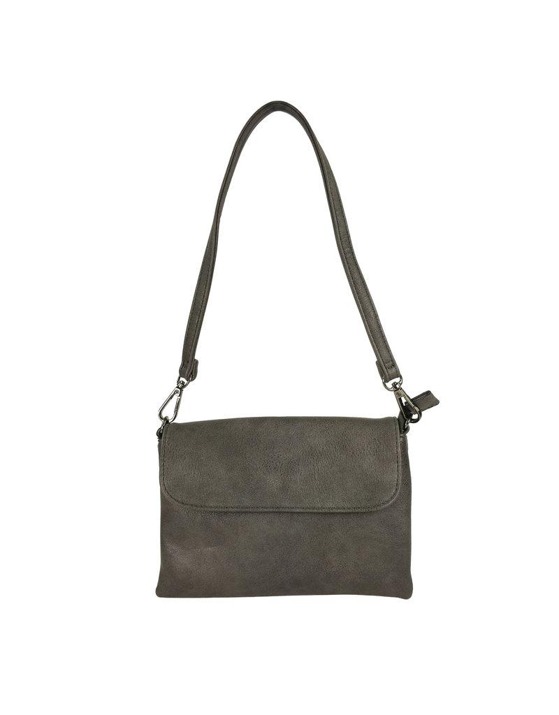 Handtasje/clutch grijs