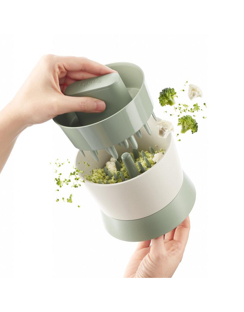 Broccoli- en bloemkoolrijstmaker