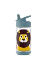 Drinkfles met rietje leeuw