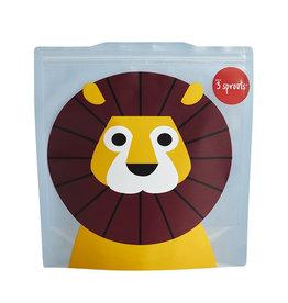 Herbruikbare zakjes 2st leeuw