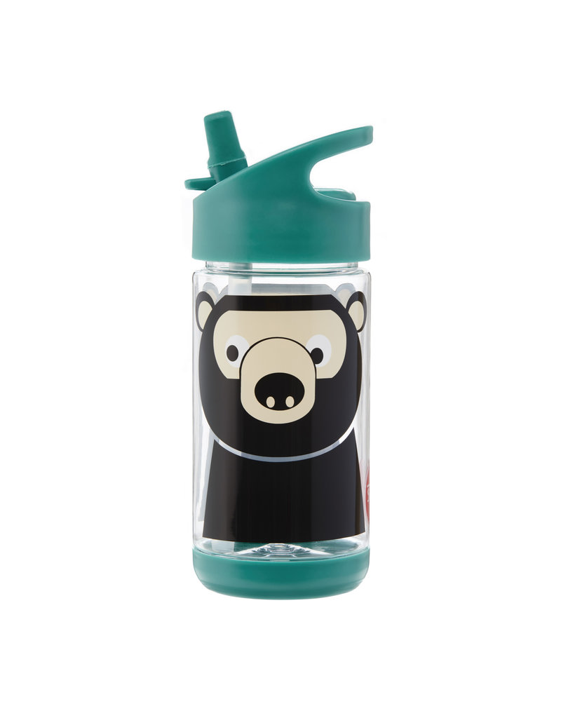 Drinkfles met rietje beer
