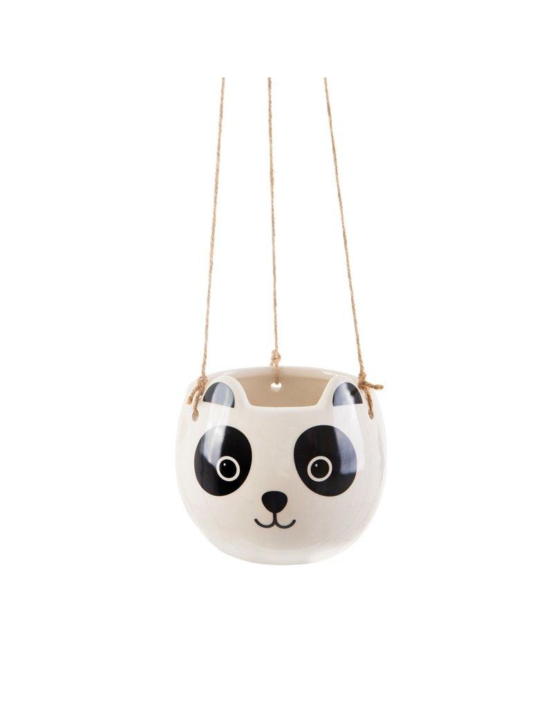 Bloempot panda hangend