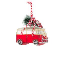 Kerstbal VW busje