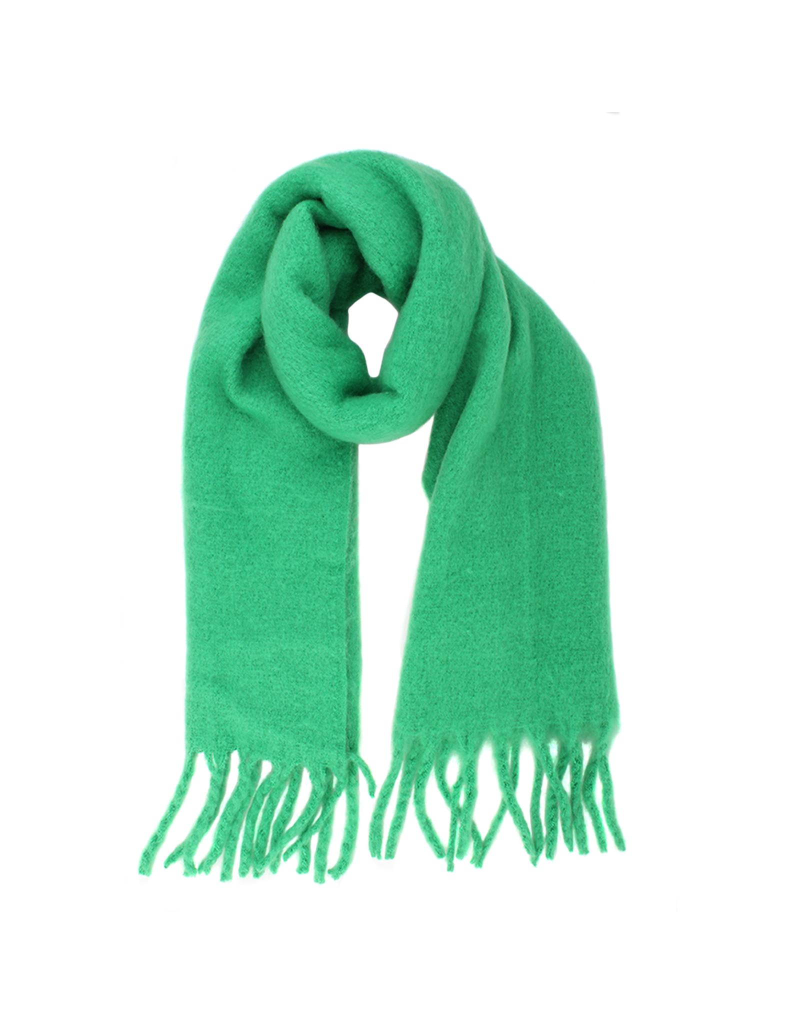Sjaal fel groen